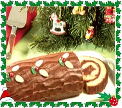 Christmas Desserts Yule Log