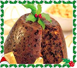 Traditional Christmas Pudding